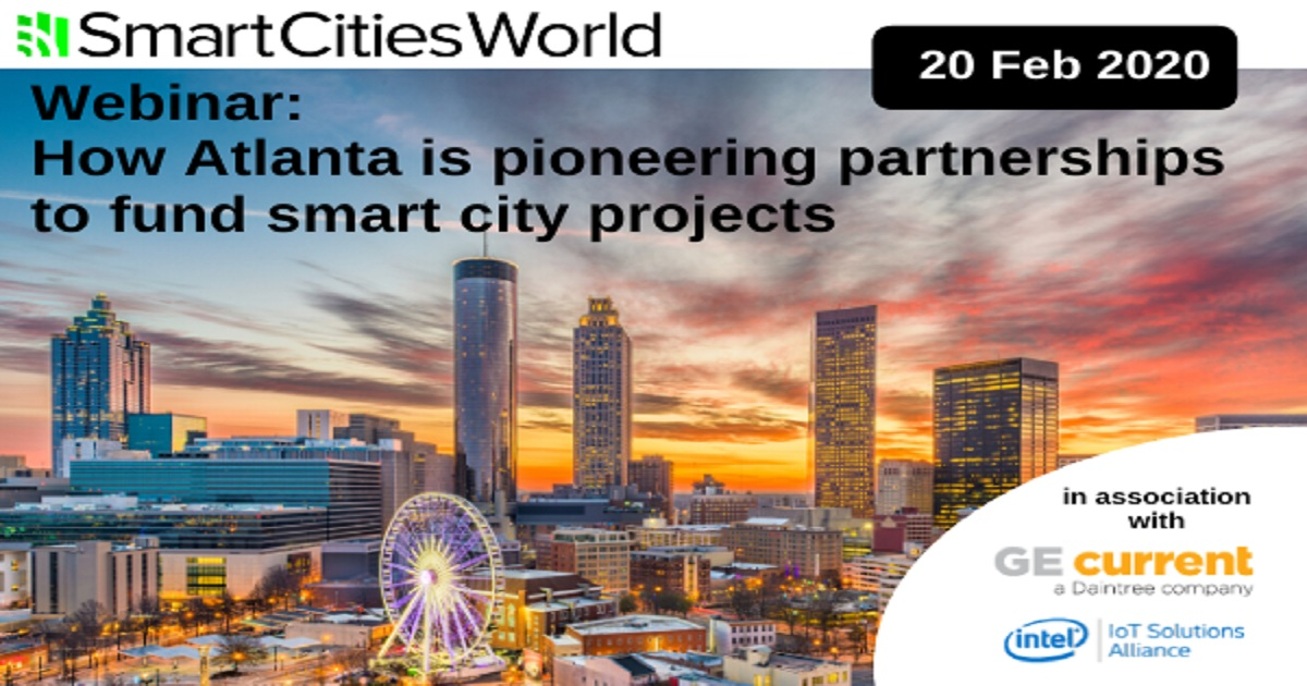 How Atlanta is pioneering partnerships to fund smart city projects