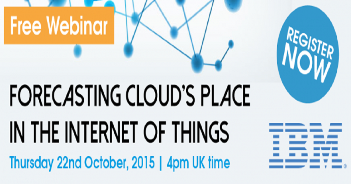 Forecasting Cloud's Place in the Internet of Things