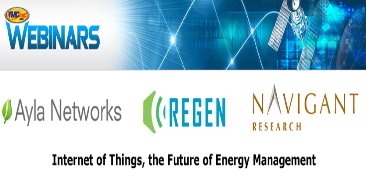 Internet of Things, the Future of Energy Management