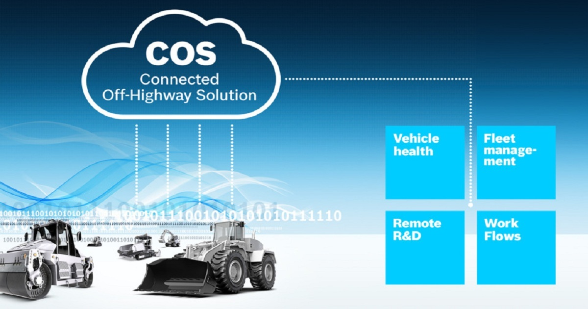 Bosch Rexroth connects off-highway vehicles with flexible IoT Suite