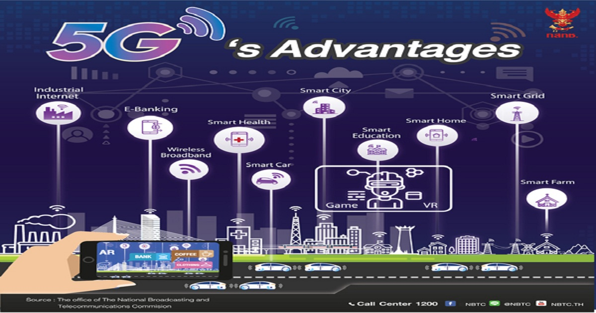 NBTC vouches for 5G to revive economy with technology