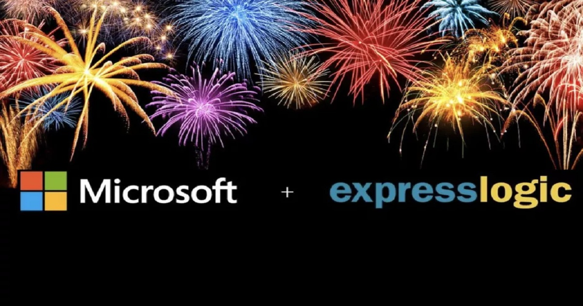 Microsoft acquires IoT microcontroller software company Express Logic