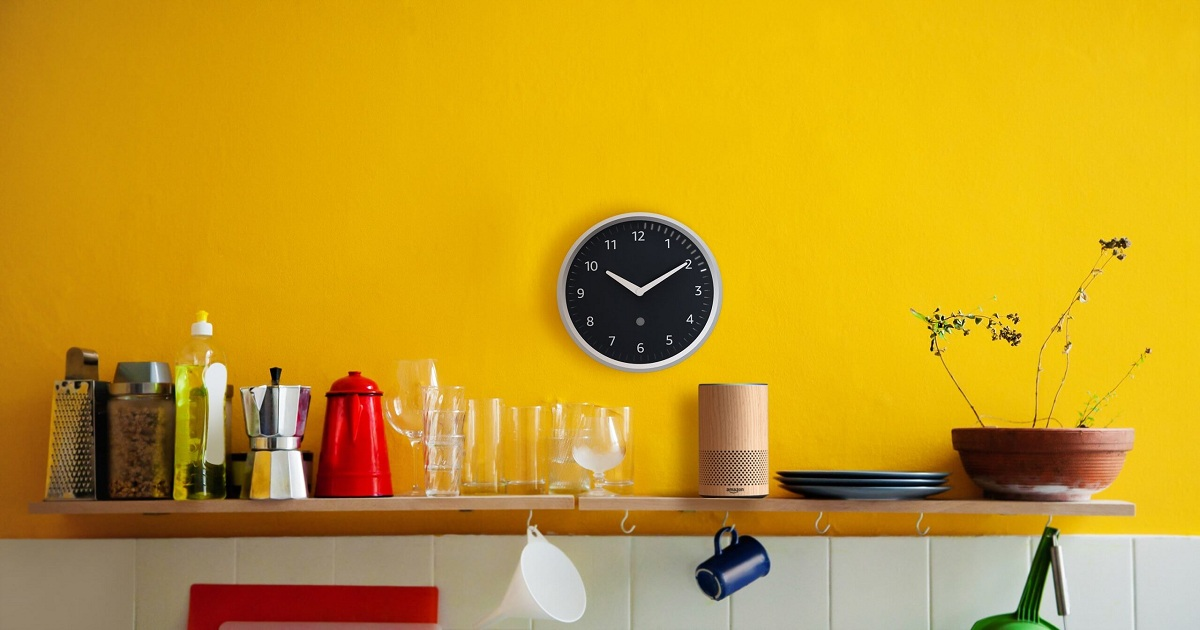 Amazon is getting its IoT on with the $30 Echo Wall Clock