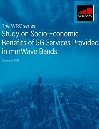 STUDY ON SOCIO-ECONOMIC BENEFITS OF 5G SERVICES PROVIDED IN MMWAVE BANDS