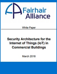 SECURITY ARCHITECTURE FOR THE INTERNET OF THINGS (IOT) IN COMMERCIAL BUILDINGS