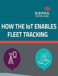 HOW THE IOT ENABLES FLEET TRACKING