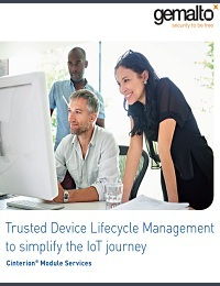 TRUSTED DEVICE LIFECYCLE MANAGEMENT TO SIMPLIFY THE IOT JOURNEY