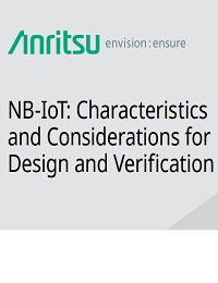 NB-IOT: CHARACTERISTICS AND CONSIDERATIONS FOR DESIGN AND VERIFICATION