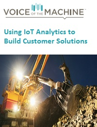 USING IOT ANALYTICS TO BUILD CUSTOMER SOLUTIONS
