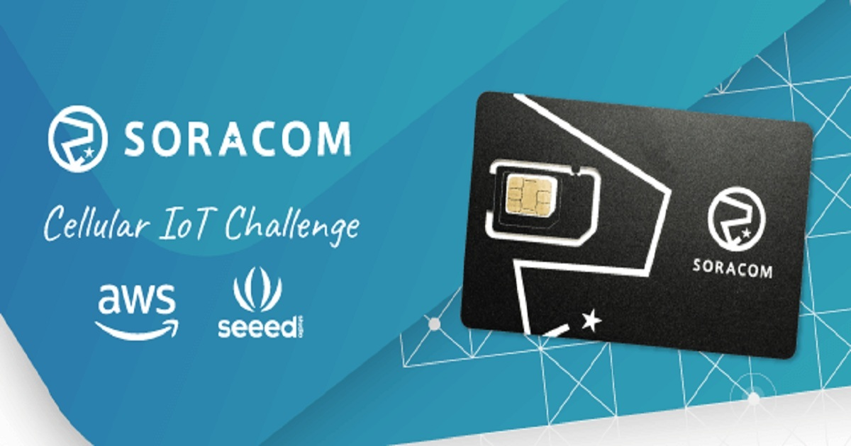 ANNOUNCING THE CELLULAR IOT CHALLENGE ON HACKSTER.IO FROM SORACOM, AWS AND SEEED STUDIO