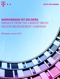 NARROWBAND IOT DELIVERS INSIGHTS FROM THE LARGEST NB-IOT INDOOR MEASUREMENT CAMPAIGN