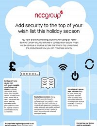 IOT HOME DEVICE ADVICE INFOGRAPHIC