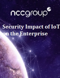 SECURITY IMPACT OF IOT ON THE ENTERPRISE