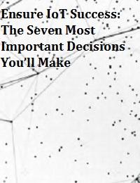 ENSURE IOT SUCCESS: THE SEVEN MOST IMPORTANT DECISIONS YOU'LL MAKE