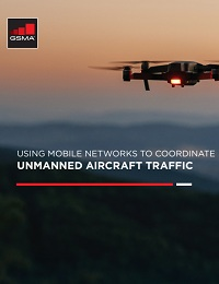 USING MOBILE NETWORKS TO COORDINATE UNMANNED AIRCRAFT TRAFFIC