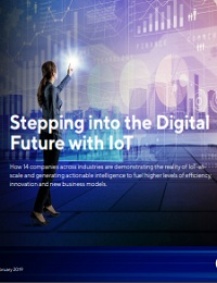STEPPING INTO THE DIGITAL FUTURE WITH IOT