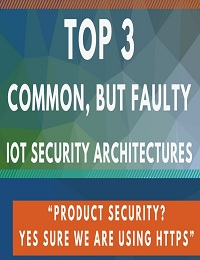 """3 TOP IOT """"SECURITY"""" ARCHITECTURES AND HOW TO FIX THEM"""