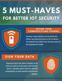 5 EASY WAYS TO BETTER IOT SECURITY