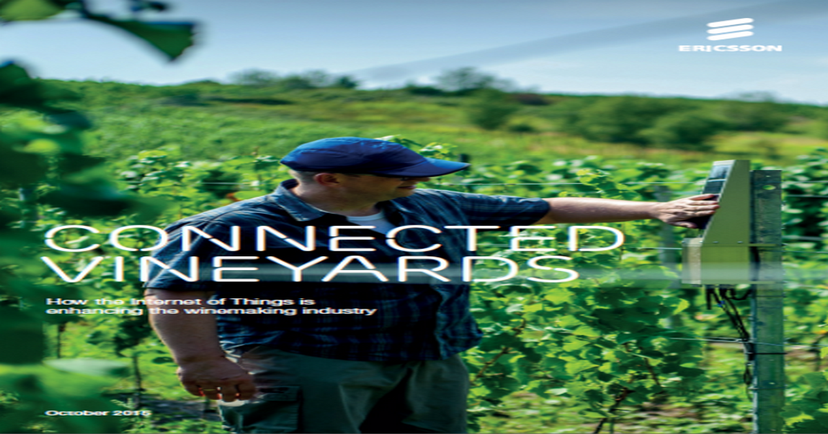 HOW THE INTERNET OF THINGS IS ENHANCING THE WINEMAKING INDUSTRY
