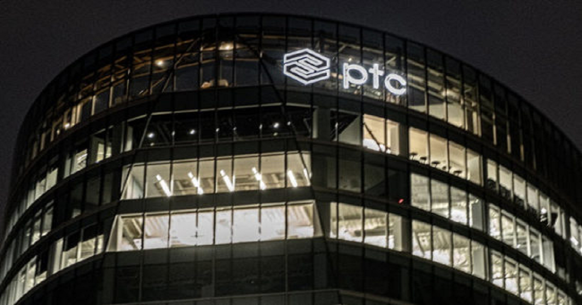 PTC'S BET IN AR AND IOT IS PAYING OFF