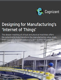 DESIGNING FOR MANUFACTURING'S 'INTERNET OF THINGS