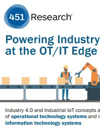 POWERING INDUSTRY AT THE OT/IT EDGE