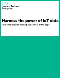 HARNESS THE POWER OF IOT DATA