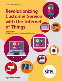 REVOLUTIONIZING CUSTOMER SERVICE WITH THE INTERNET OF THINGS