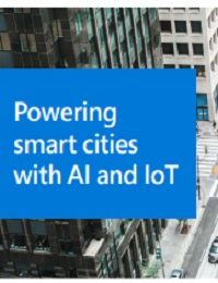 POWERING SMART CITIES WITH AI AND IOT